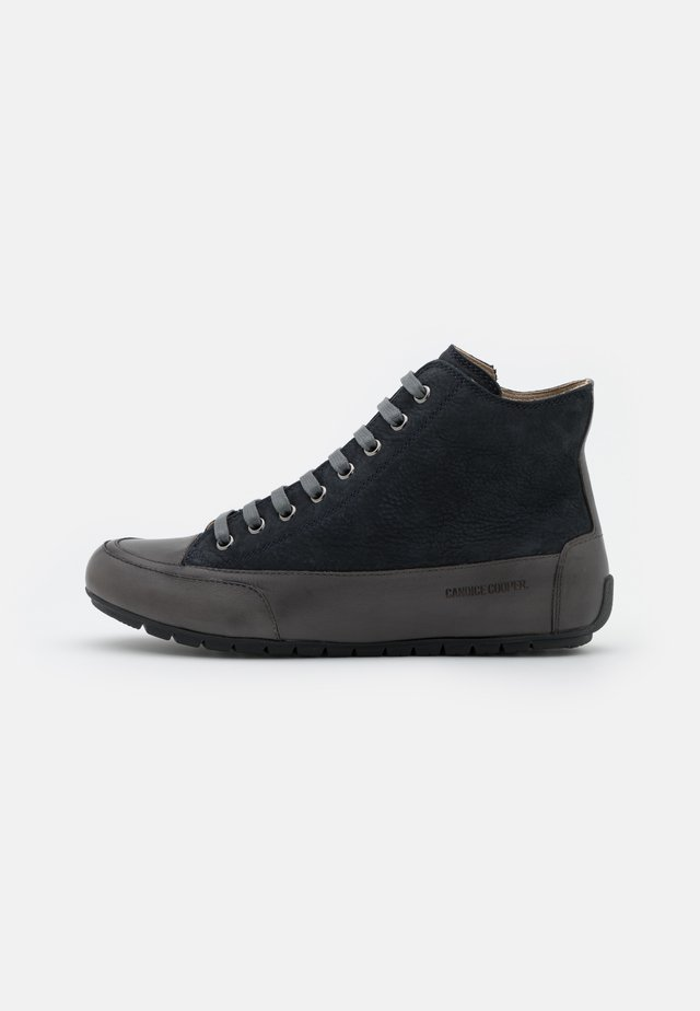 PLUS - High-top trainers - antracite/blu notte
