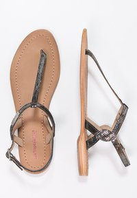 Les Tropéziennes par M Belarbi - BILLY - T-bar sandals - noir - 3