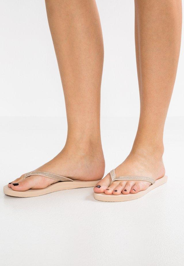 NAPILI - Sandaler m/ tåsplit - tan