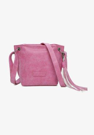 Olkalaukku - squeezy pink