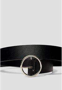 Stradivarius - Belt - black - 4