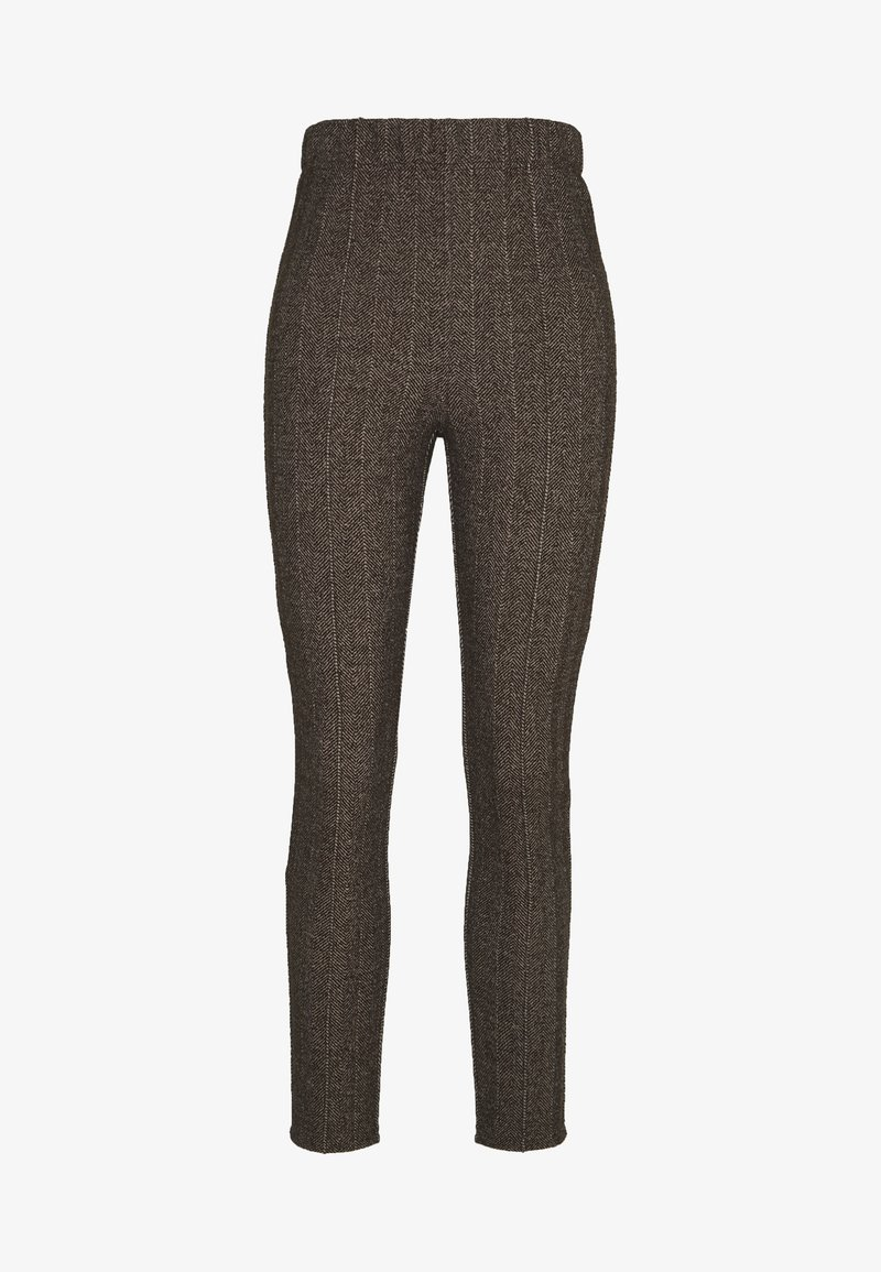 Steffen Schraut - COUNTRY HERINGBONE PANTS - Trousers - brown