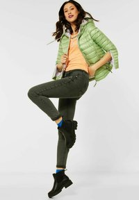 Street One - Jeans Skinny Fit - grün - 1