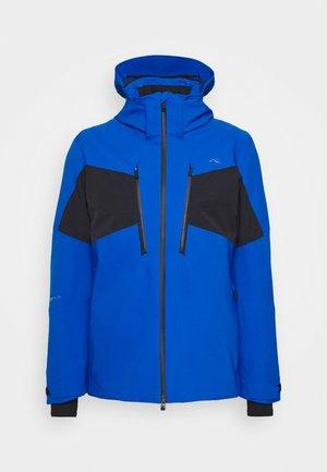 MEN EVOLVE JACKET - Lyžařská bunda - aruba blue/black