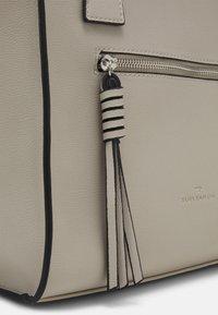 TOM TAILOR - KATHARINA - Tote bag - light grey - 3