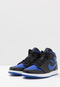 Jordan - AIR 1 MID - Zapatillas altas - black/hyper royal/white - 2