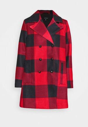 CLASSIC PEACOAT - Zimní kabát - red