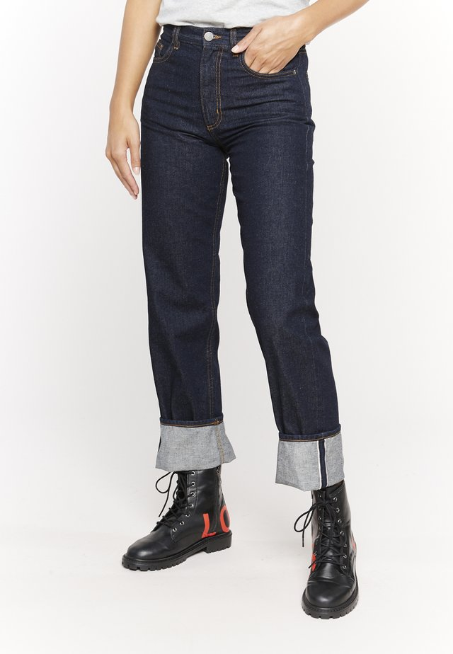 Straight leg -farkut - blau