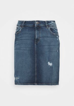 SKIRT - Jeanskjol - blue medium wash