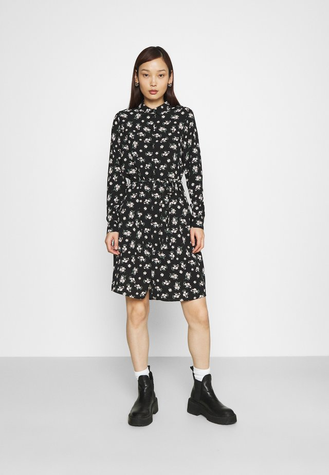 VMSAGA COLLAR DRESS  - Shirt dress - black/dara