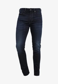 G-Star - 3301 SLIM - Slim fit jeans - dark aged - 4