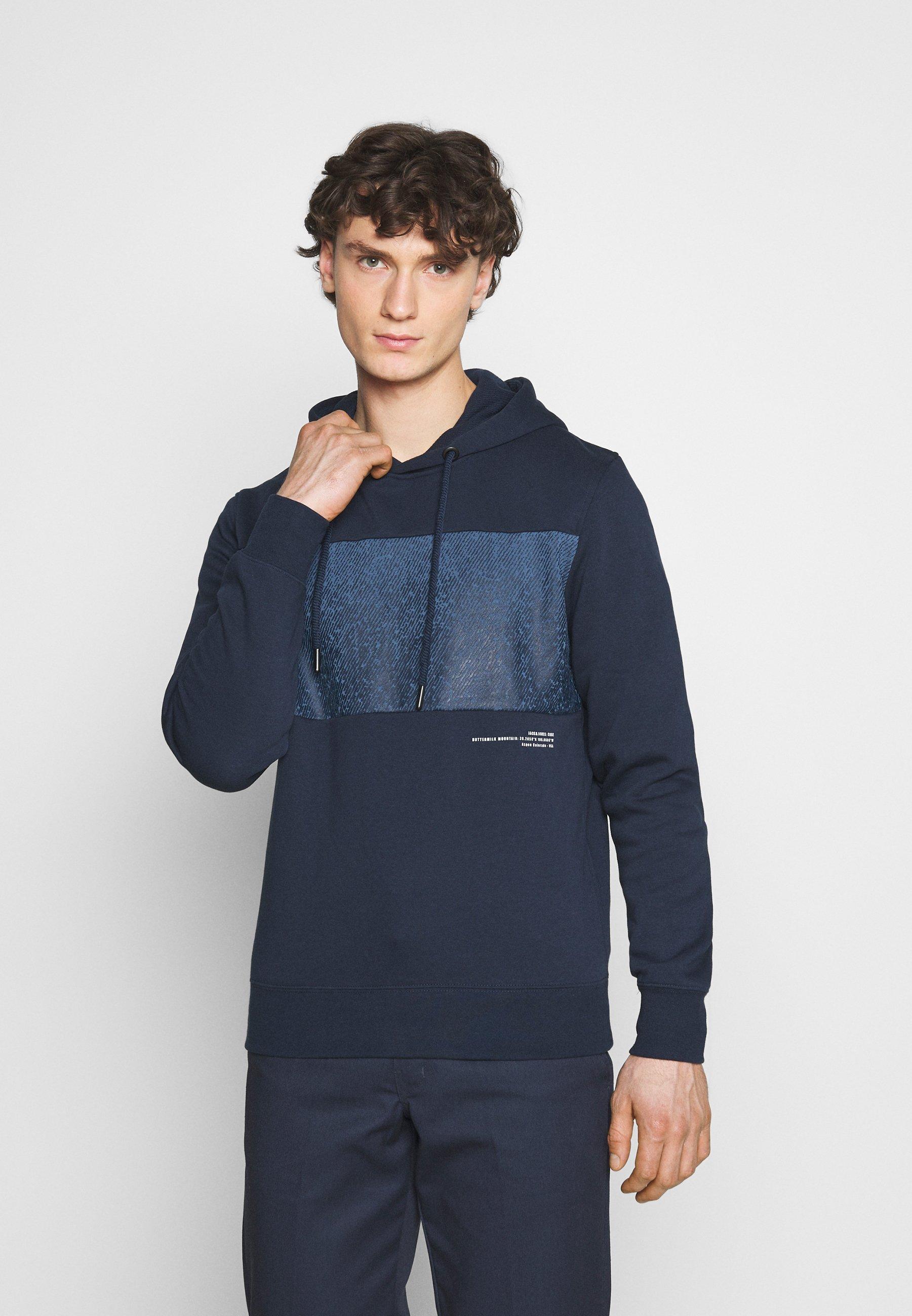 Men JCOSPRAY HOOD - Sweatshirt