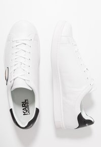 KARL LAGERFELD - KOURT IKONIC 3D LACE - Trainers - white - 1