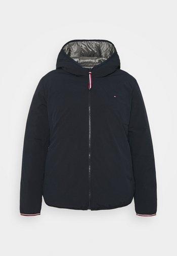 ESS REVERSIBLE PADDED - Winter jacket - blue