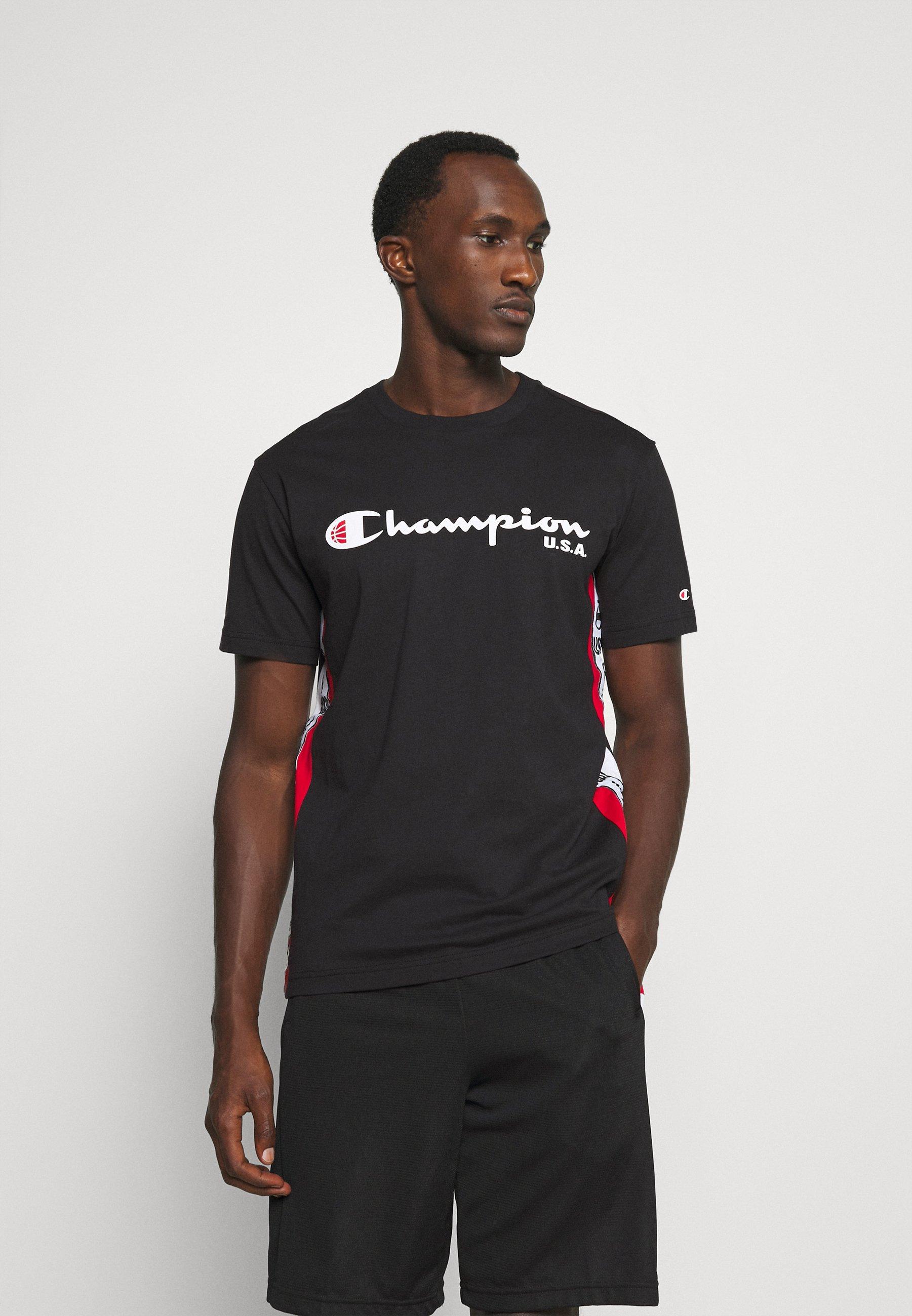 Herren OFF COURT CREWNECK - T-Shirt print