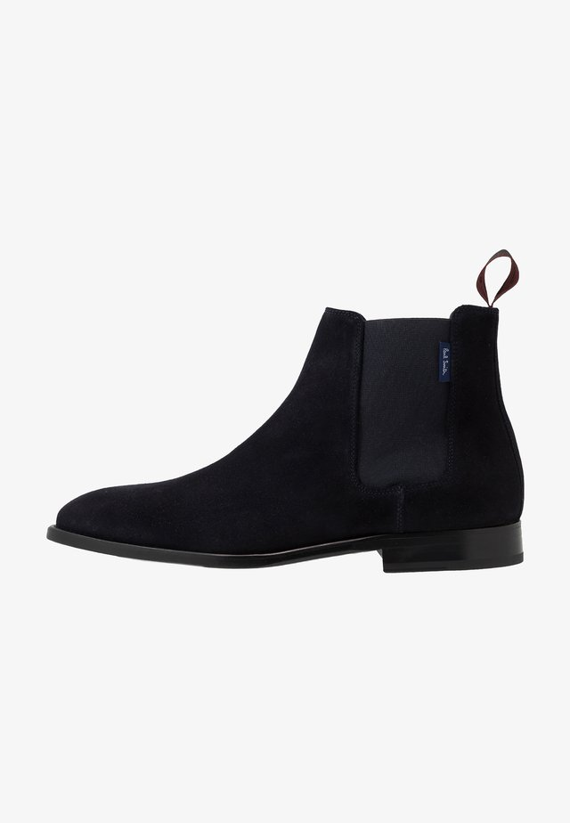 GERALD - Classic ankle boots - navy