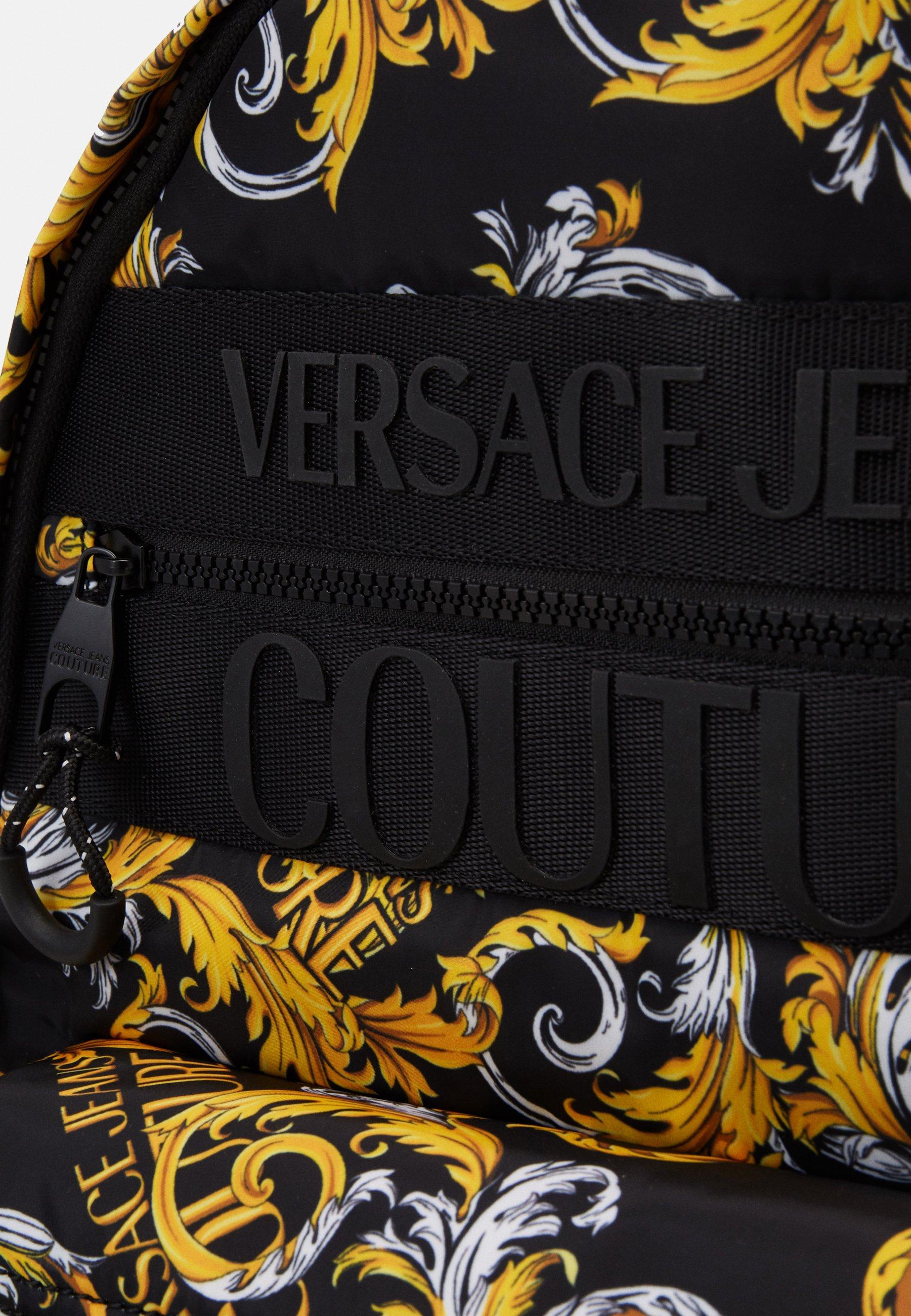 Gorąca wyprzedaż Gorąca wyprzedaż Versace Jeans Couture Plecak - black/gold   Akcesoria męskie 2020 XxEUM