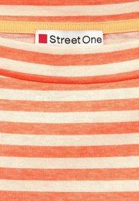 Street One - Long sleeved top - orange - 2