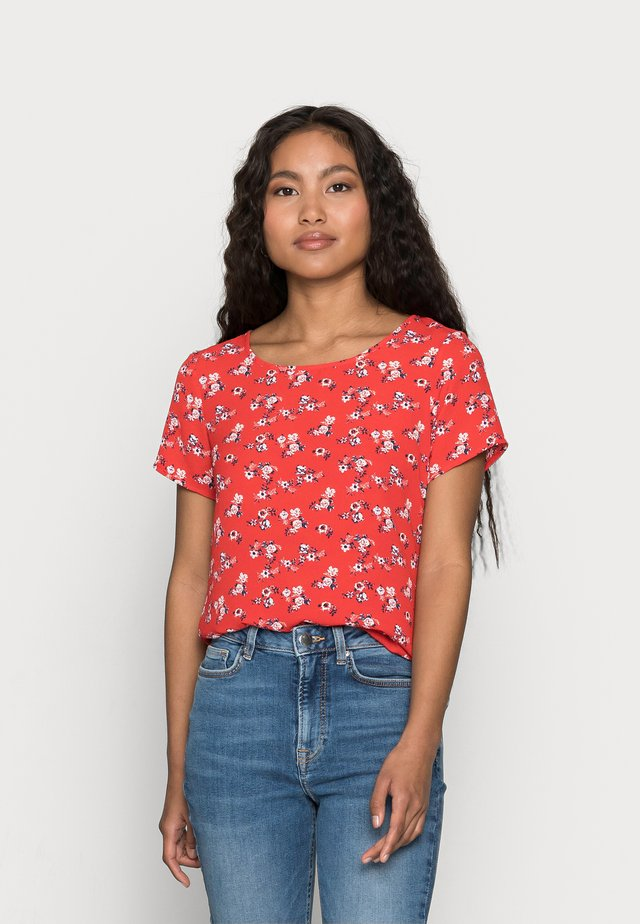 VMSAGA - Print T-shirt - goji berry
