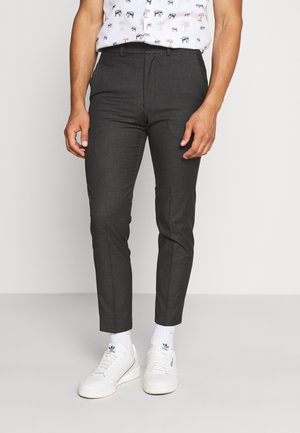 PUPPYTOOTH FLAT FRONT TROUSER - Broek - charcoal
