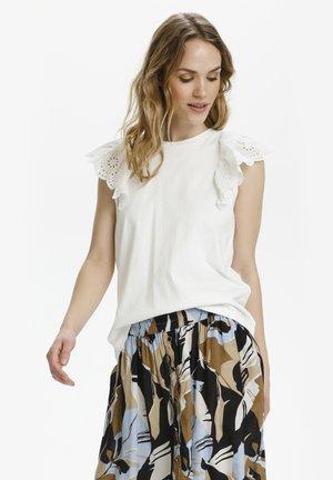 KALELIA - T-Shirt print - chalk