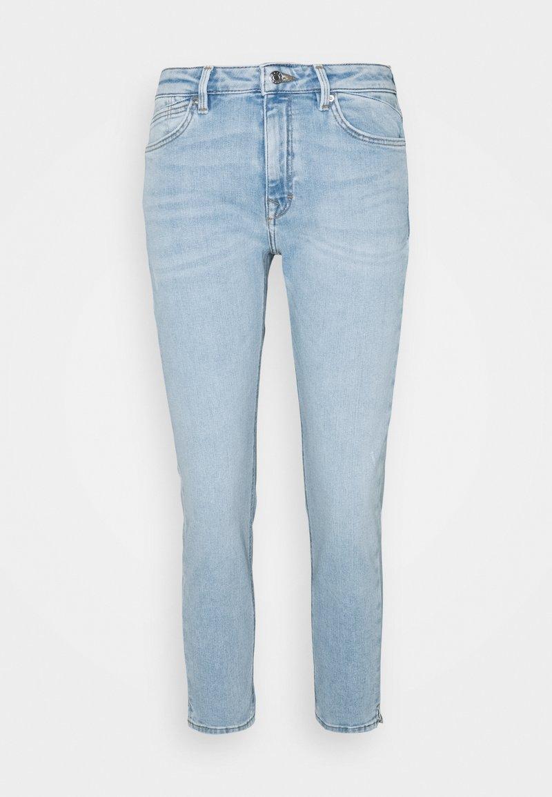 Esprit - Slim fit jeans - blue light wash