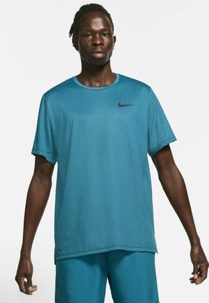 DRY  - Basic T-shirt - obsidian/green abyss/heather/black