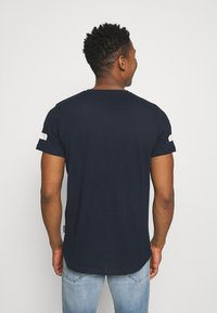 Redefined Rebel - ZION TEE - Print T-shirt - navy - 2