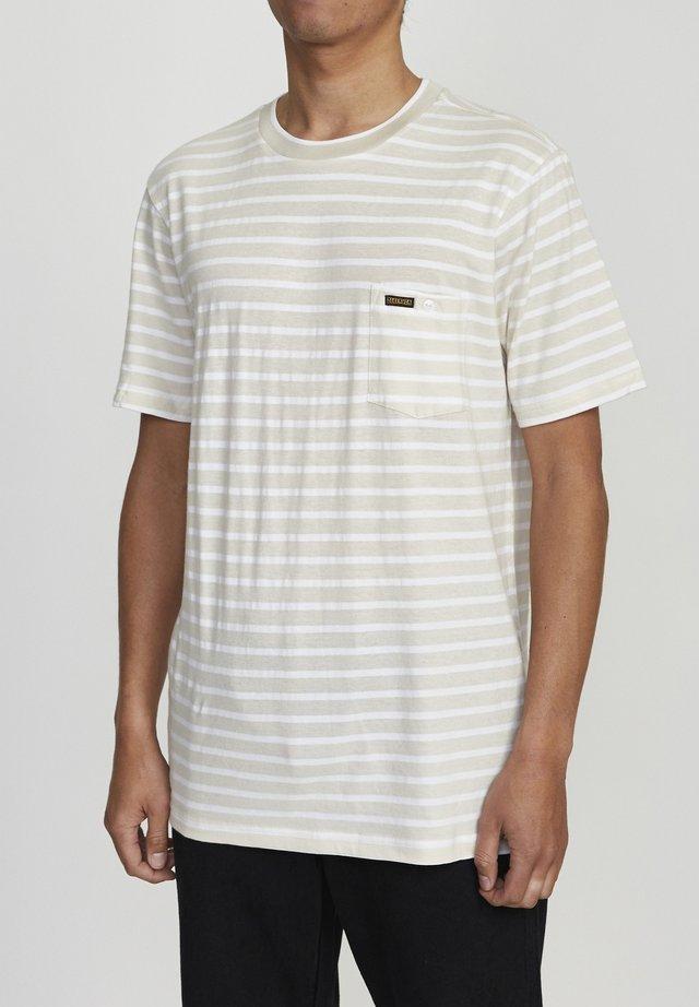 BAKER  - T-shirt imprimé - bone
