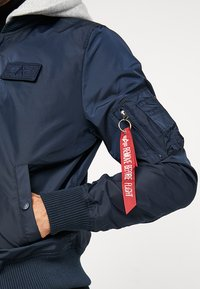 Alpha Industries - HOOD - Bomber Jacket - rep blue - 6