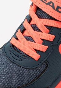 Head - SPRINT 3.0 KIDS - Tenisové boty na všechny povrchy - midnight navy/neon red - 2