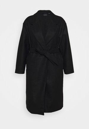 VMFORTUNE LONG - Klasický kabát - black