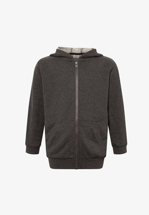 Zip-up hoodie - anthracite