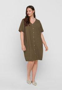 Zizzi - Shirt dress - ivy green - 1