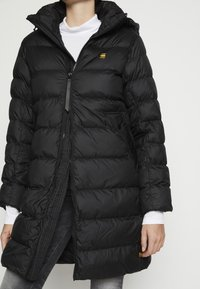 G-Star - WHISTLER SLIM LONG COAT - Winter coat - black - 4