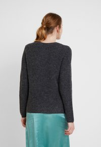 Vila - Jumper - dark grey melange - 2