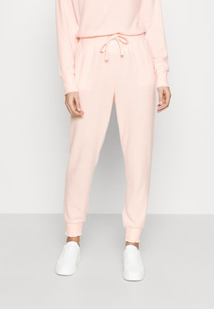 BRUSHED JOGGER - Pantalon de survêtement - blush