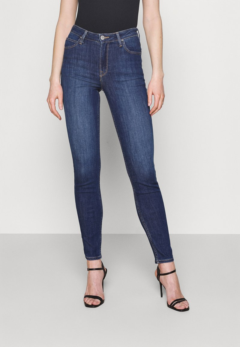 Lee - SCARLETT HIGH - Jeans Skinny Fit - mid used