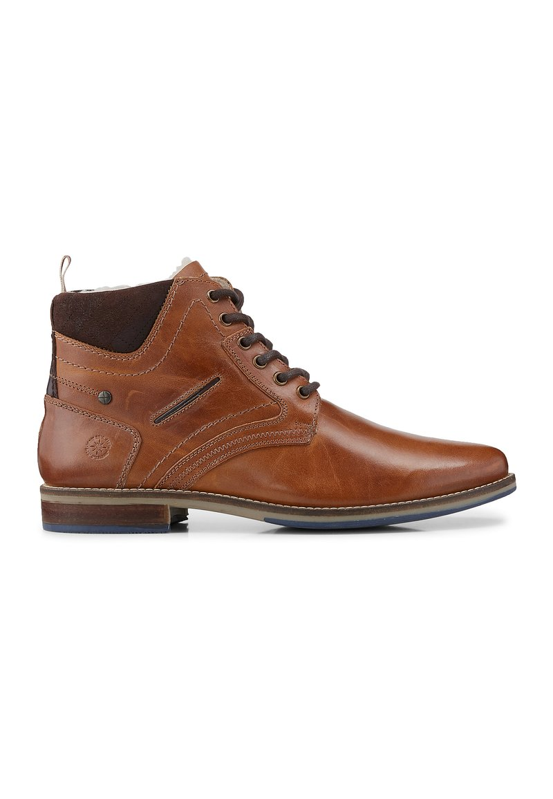 COX - Lace-up ankle boots - mittelbraun