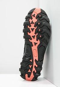 CMP - RIGEL LOW TREKKING SHOE WP - Hiking shoes - blue/giada/peach - 5