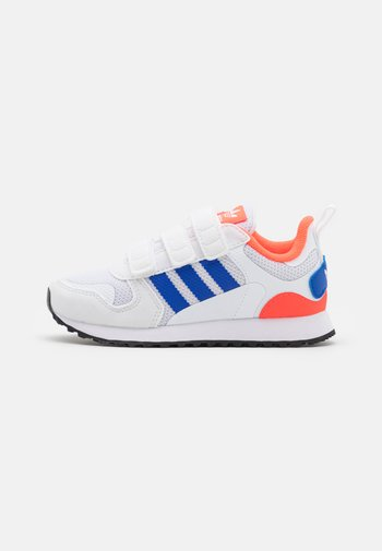 ZX 700 ORIGINALS  SHOES UNISEX - Trainers - footwear white/bold blue/solar red