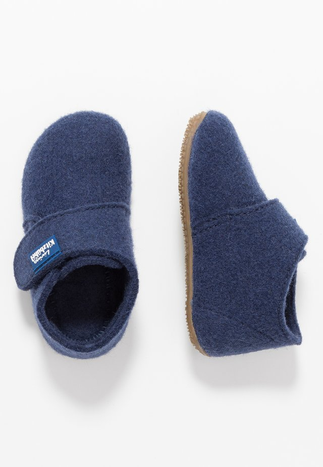 BABYKLETT UNIFARBEN - Slippers - nightshadow