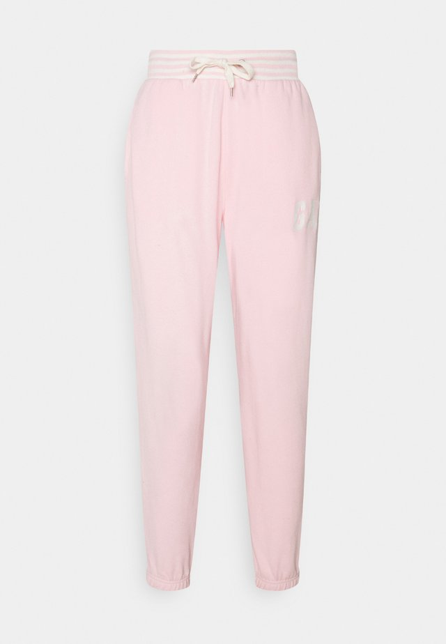 JOGGER - Tracksuit bottoms - light shell pink