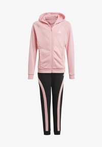 adidas Performance - G HOODED CO TS TRACKSUITS TRAINING WORKOUT TRACKSUIT - Trainingspak - pink - 0