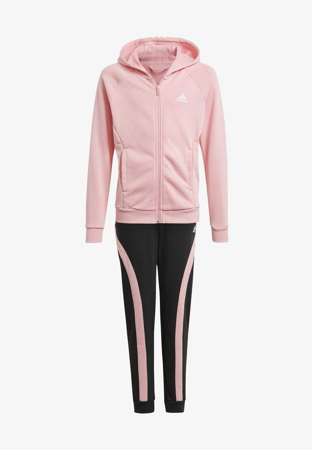 G HOODED CO TS TRACKSUITS TRAINING WORKOUT TRACKSUIT - Chándal - pink
