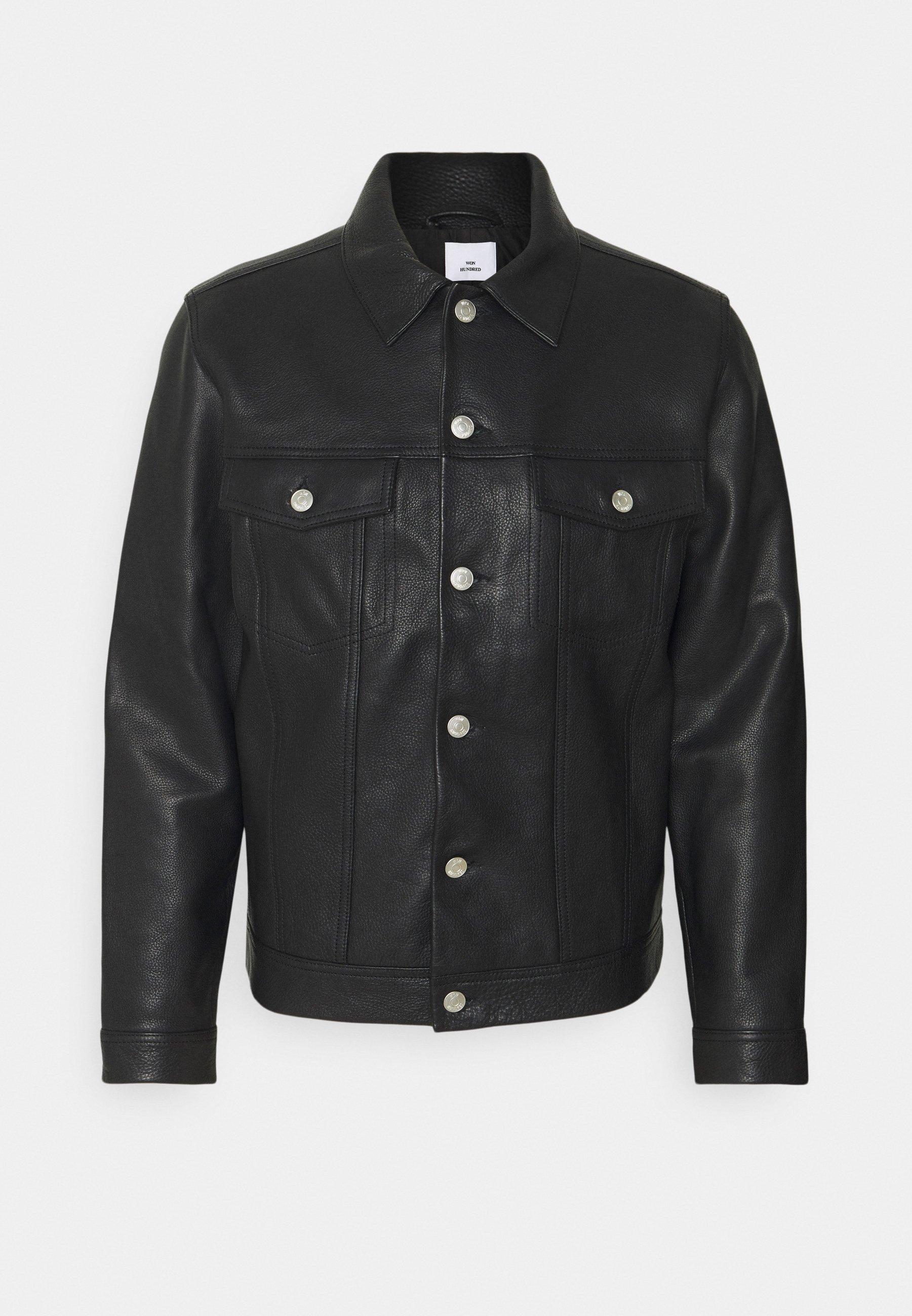 Men VINNY - Leather jacket