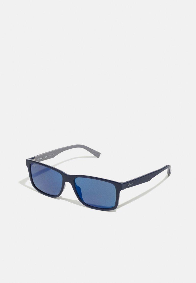Salvatore Ferragamo - Sluneční brýle - blue/grey