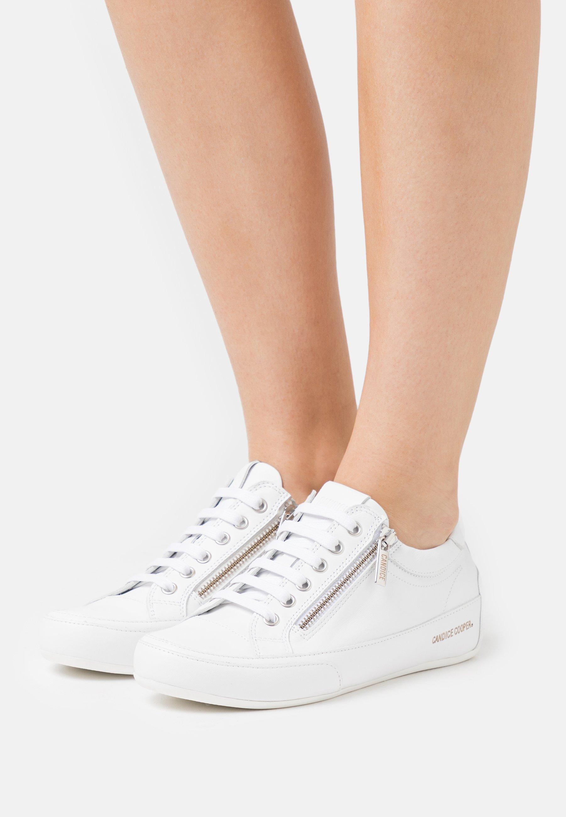 Femme DELUXE ZIP - Baskets basses - bianco