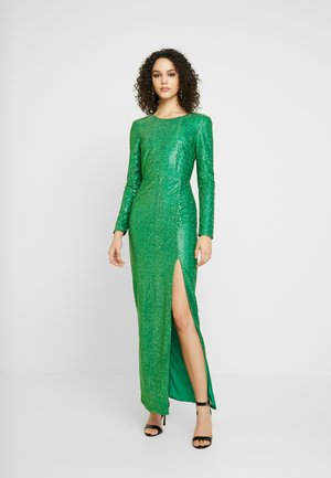 SPARKLING SLIT GOWN - Occasion wear - green
