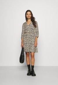 VILA PETITE - VIVISH DRESS - Day dress - black - 1